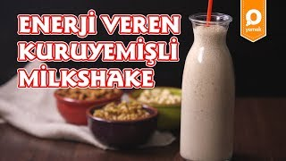 Enerji Veren Kuruyemişli Milkshake Tarifi - Onedio Yemek - Sağlıklı Tarifler