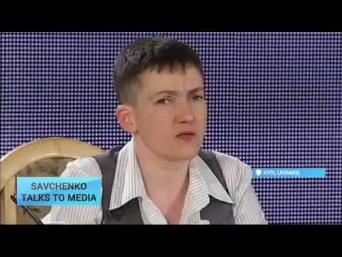 Savchenko Talks to Media: Freed Ukrainian pilot and MP answers journalists' questions in Kyiv