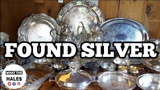 FOUND SILVER I Bought Abandoned Storage Unit Locker / Opening Mystery Boxes Storage Wars Auction
