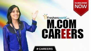 CAREERS IN M.COM – B.Com,Budget Analyst,Junior Accountant,Teaching,Job Opportunities,Salary Package(CAREERS IN M.COM.Go through the career opportunities of M.COM, Govt jobs and Employment News channel from Freshersworld.com – The No.1 job portal ..., 2015-07-21T06:44:53.000Z)