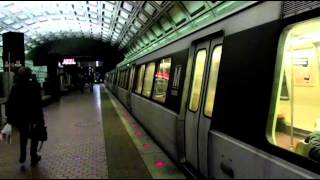 WMATA Metro Rail Red Line making stop at Union Station