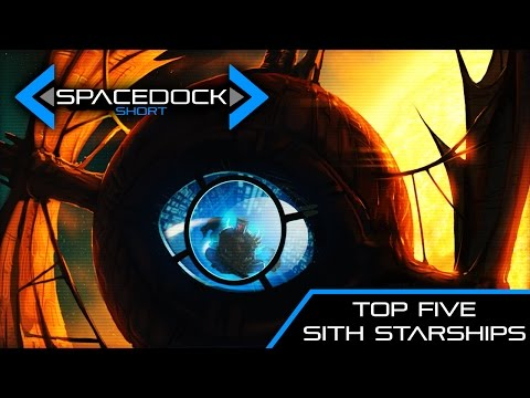 Star Wars: Top 5 Sith Personal Starships (Legends Sources) - Spacedock Short