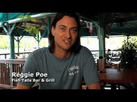 Testimonial from the restaurant Fish Tails on St Thomas