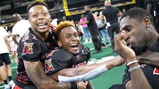 RENEE WASHINGTON: AC Blackjacks Bloopers from win over the Baltimore Brigade, 35-34