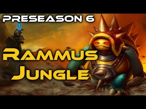 [LoL] AP Rammus Jungle - Full Game Commentary