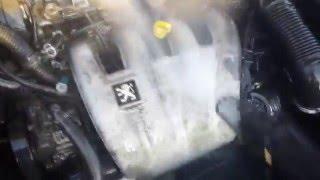 Mycie Silnika Samochodu/Washing Engine Car - Peugeot 406 (K2 AKRA + KARCHER)