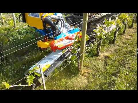 Trinciaerba videolike for Bcs 602 con piatto taglia trincia erba