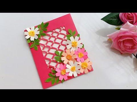 Beautiful Handmade Birthday card//DIY Gift idea.