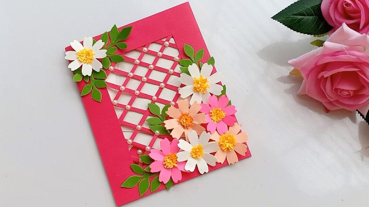 Beautiful Handmade Birthday card//DIY Gift idea. - YouTube