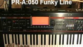 Roland Juno-G KEYBOARD / ORGAN demos (part 1 of 3)