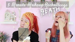 5 Minute Makeup RECHALLENGE