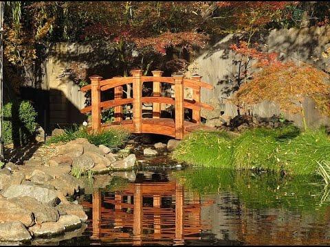 мостики в саду
