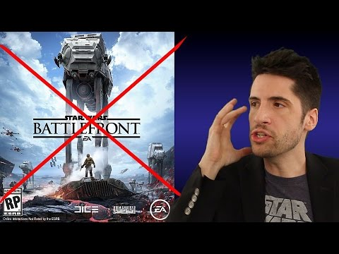A Star Wars fan speaks out why he refuses to buy Battlefront