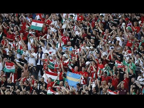Hungary goes football-crazy for Euro 2016