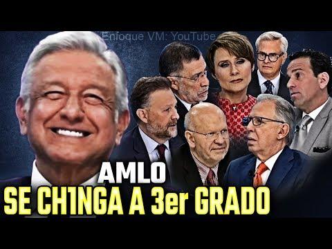 AMLO se ch1nga a Tercer Grado 2018