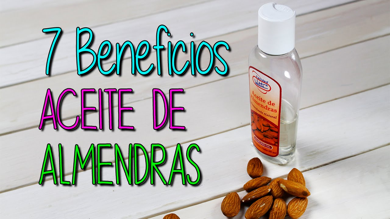 Aceite De Almendras Dulces Para Qué Sirve Cuidado De La Piel Y Cabello Catwalk Youtube
