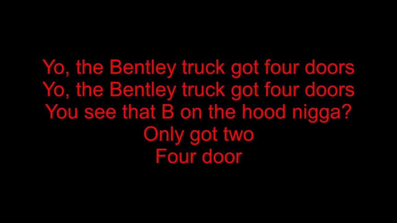 Dave East Bentley Truck Feat Chris Brown Kap G Lyrics Youtube