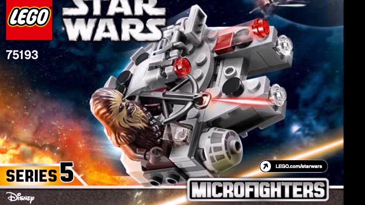Lego 75193 Star Wars Millenium Falcon Microfighters  Series 5 New!!