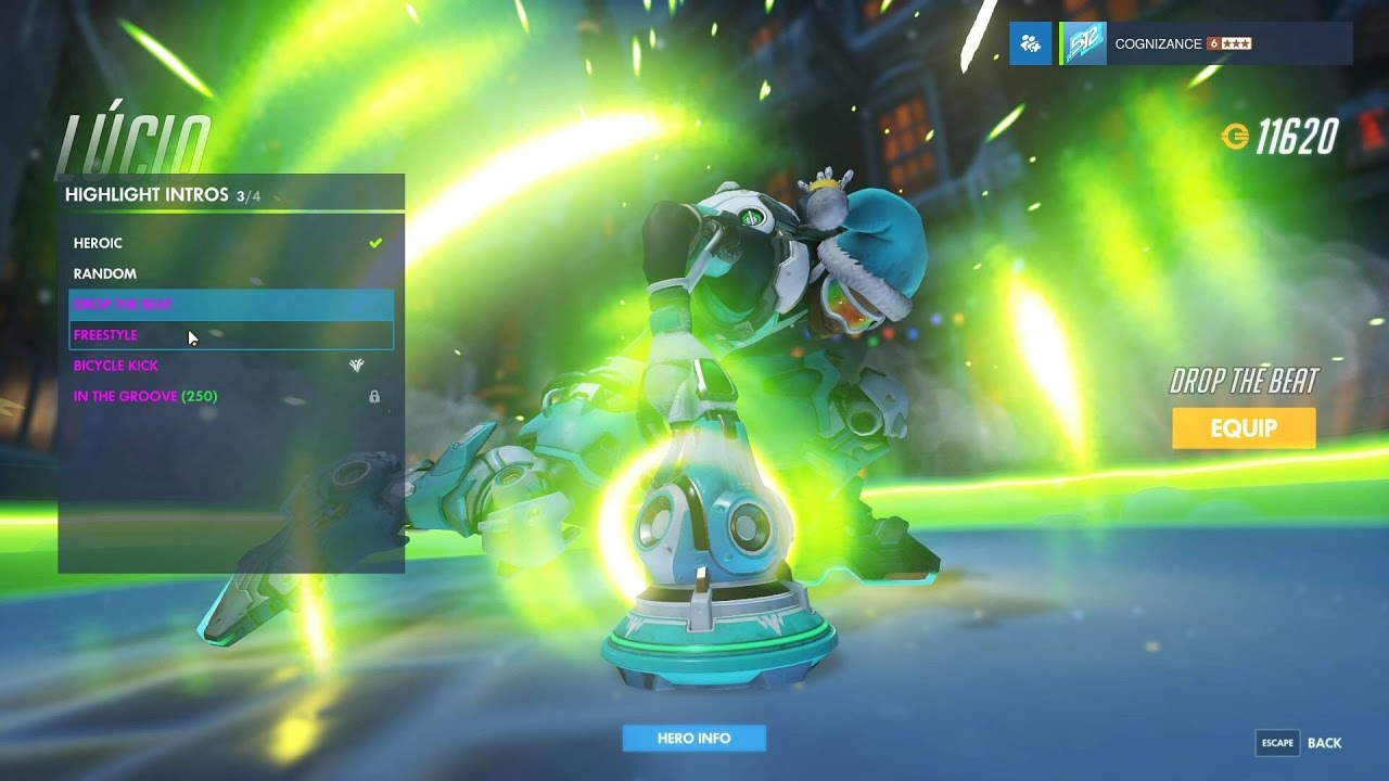Overwatch: Reinhardt Greifhardt Skin All Emotes, Poses