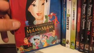My Disney/Marvel Blu-Ray Collection - 2015