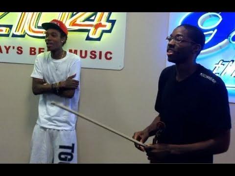 Eric Stanley, Wiz Khalifa & Big Sean @ Z104 Norfolk Radio