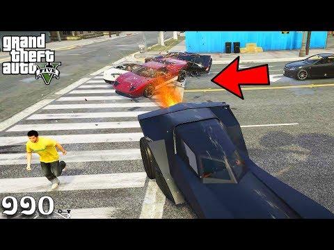 ហ្គាសបំផ្លាញមនុស្ស - Vigilante Batman Car (GTA 5 MOD Ep110) Khmer|VPROGAME