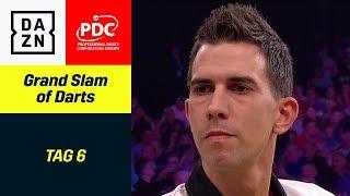 Furz-Gate bei Anderson - Harms, Unterbuchner fordert Wade | Grand Slam of Darts | DAZN
