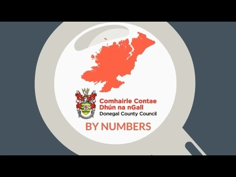 Donegal County Council by Numbers