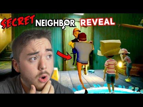 The New Hello Neighbor Game!!! (Multiplayer Reveal) | Secret Neighbor - E3 Reveal |