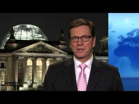 Guido Westerwelle FDP im ARD tagesthemen - Interview über die Lage in der Ukraine 11.12.2013