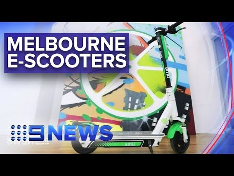 Electric Scooters Proposed In Melbourne | Nine News Australia