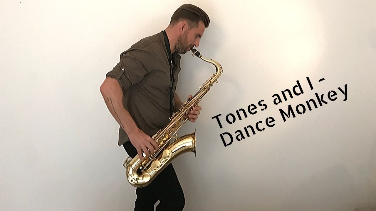 Tones and I - Dance Monkey [sax cover] by Jordanas Narkus