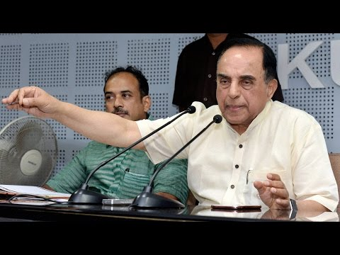 Subramanian Swamy slams PM Modis Achche Din questions GDP figures