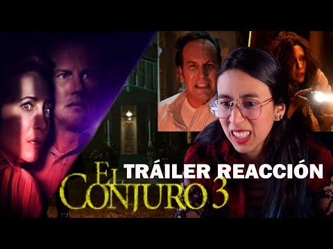 ???? EL CONJURO 3 REACCIÓN Trailer escalofriante y terrorífico ☠️