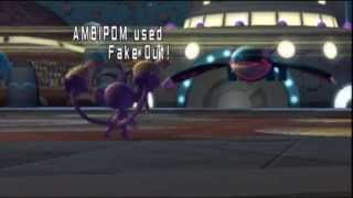 Pokemon battle revolution wifi battle 156 Ruby VS Sapphire