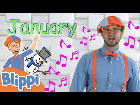 new-year-with-blippi---months-song-|-educational-songs-for-kids