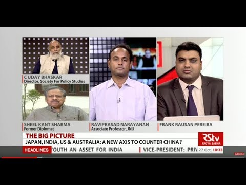 The Big Picture : Japan, India, US & Australia : A new axis to Counter  China ?