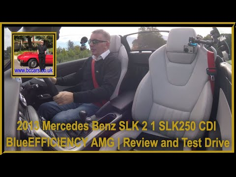 Review and Virtual Video Test Drive In Our 2013 Mercedes Benz SLK 2 1 SLK250 CDI BlueEFFICIENCY AMG