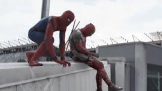 Deadpool And Spider-man: Civil War
