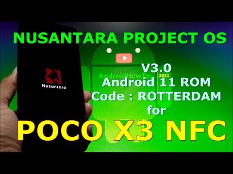 Nusantara Project OS v3.0 Official for Poco X3 NFC (Surya)