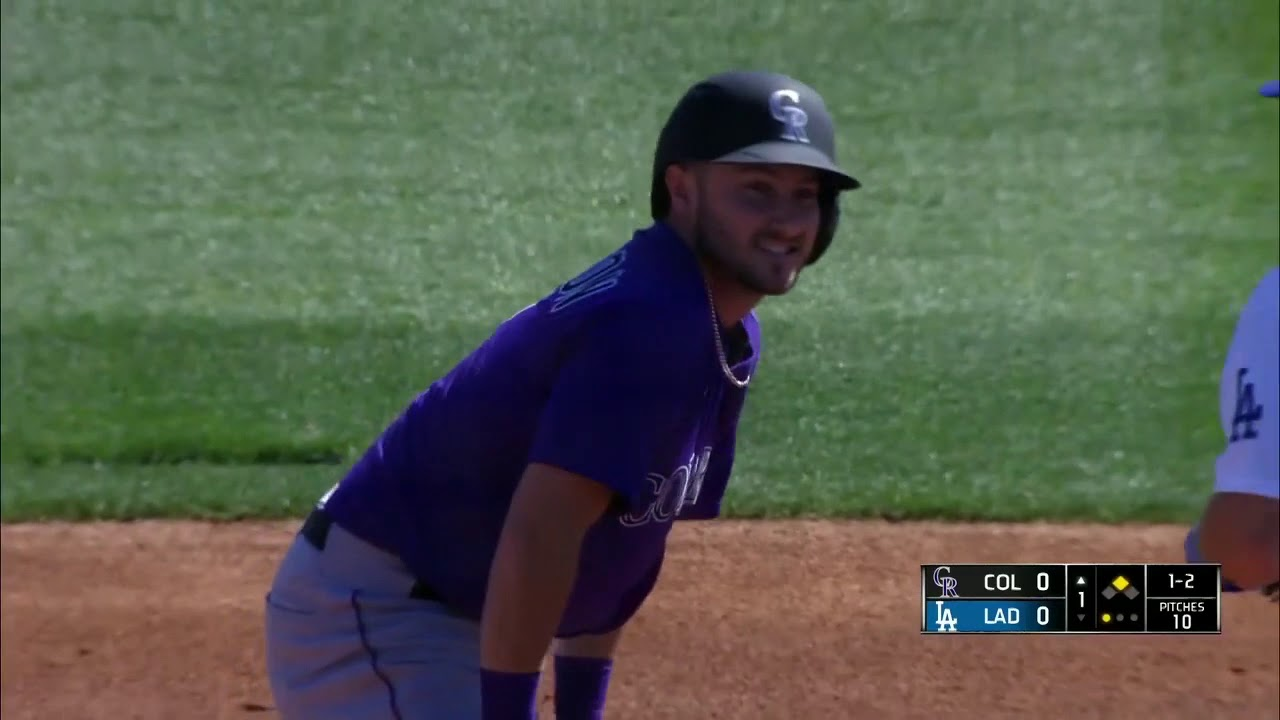 Download Colorado Rockies At Los Angeles  Dodgers - Spring Training - 2021-03-01 - mlb full game
