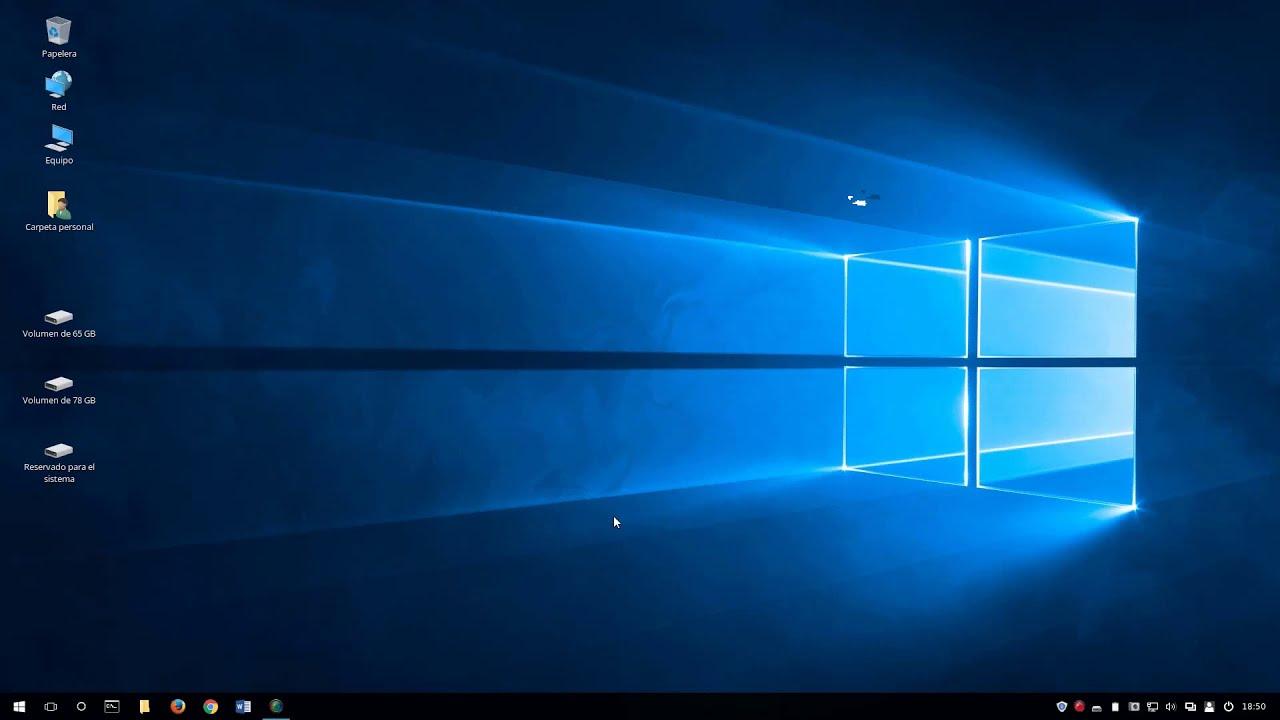 Windows 10 Theme for Linux Mint Cinnamon