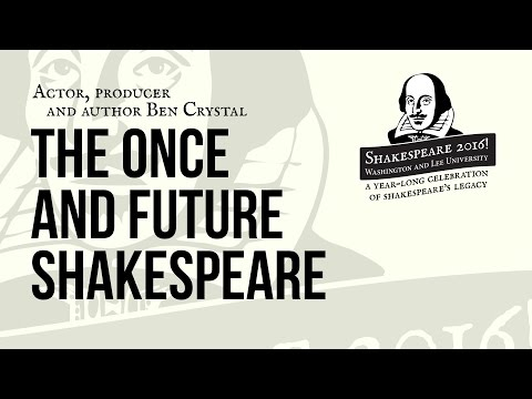 Shakespeare 2016! with Ben Crystal