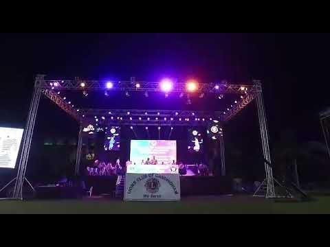 lions club of gandhidham, gujarat annual events dj and led wall setup 09990908622