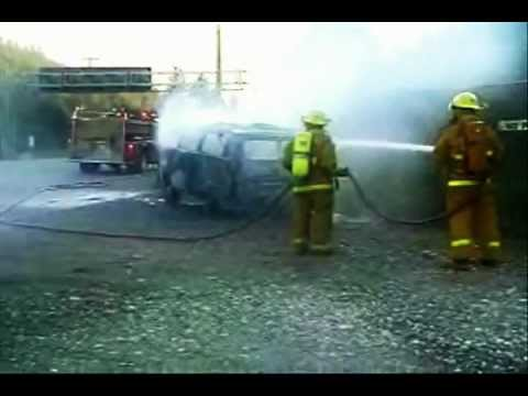 Fire Department In Action