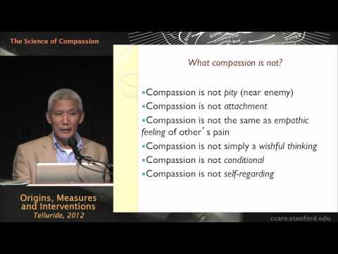 The Science Of Compassion: Origins, Measures, And Interventions - Thupten Jinpa, PhD