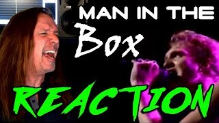 Vocal Coach Reaction to Layne Staley - Alice In Chains - Man In The Box - Live - Ken Tamplin