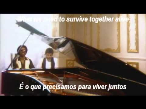 Ebony and Ivory - Paul McCartney and Stevie Wonder Tradução Português Lyrics
