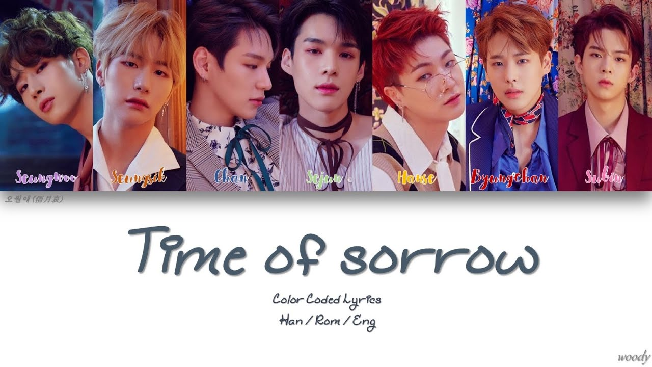 VICTON (빅톤) - TIME OF SORROW (오월애 (俉月哀)) Lyrics [Color Coded Han | Rom | Eng]