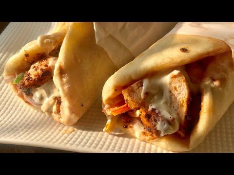 Chicken shawarma recipe how To Make shawarma At Home